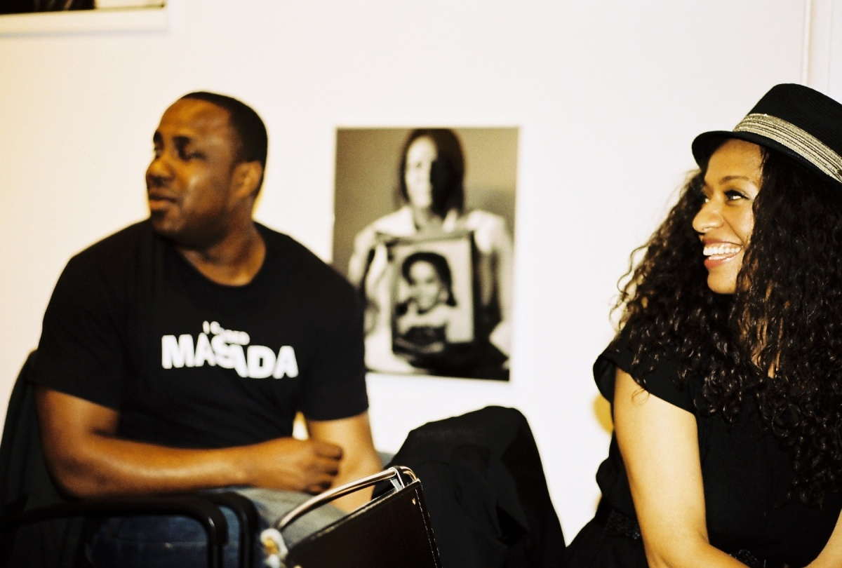 Alan King and Rachel Eliza Griffiths at Willow Cave Canem Reading 2011