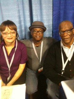 AWP Chicago 2012, H. Buchanan, Randall Horton and Reggie Flood